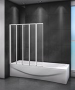 CEZARES RELAX-V-5-R Душевые шторки для ванн складные, стекло 4 мм, правый вариант