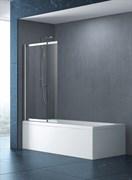 CEZARES SLIDER-VF-11 Душевые шторки для ванн раздвижные, стекло 6 мм, устанавливается на левую или правую стороны
