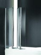 CEZARES TRIO V-3-R Душевые шторки для ванн складные, стекло 6 мм, правый вариант