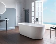 BELBAGNO BB305 Ванна акриловая отельностоящая овальная