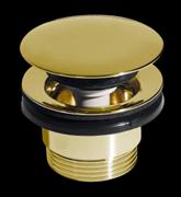 CEZARES Донный клапан с системой Клик-клак с переливом, универсальный