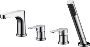 CEZARES Laconico Смеситель на борт ванны с ручным выдвижным душем