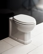 BELBAGNO Trevi Чаша приставного унитаза, P-trap, полное примыкание к стене, сиденье приобретается отдельно