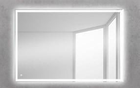 BELBAGNO Зеркало со встроенным светильником и кнопочным выключателем, 12W, 220-240V, 1200x30x800