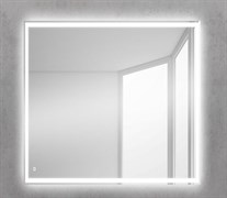 BELBAGNO Зеркало со встроенным светильником и кнопочным выключателем, 12W, 220-240V, 600x30x600