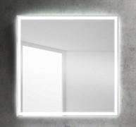 BELBAGNO Зеркало со встроенным светильником и сенсорным выключателем, 12W, 220-240V, 800x30x800