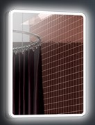 ESBANO Led Зеркало, ШВГ: 60x80х5, LED-подсветка, антизапотевание