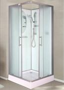 ESBANO CK Душевая кабина, поддон-15 см, стекла-рифленые, профиль-матовый хром, без крыши