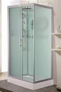 ESBANO CKR Душевая кабина, поддон-15 см, стекла-рифленые, профиль-матовый хром