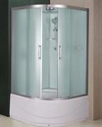 ESBANO CRB Душевая кабина, поддон-40 см, стекла-рифленые, профиль-матовый хром