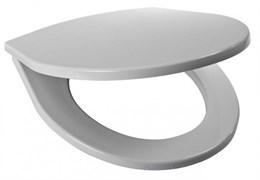 Сиденье с крышкой для унитаза Jika Zeta, стальные петли, термопласт
