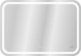 Зеркало с подсветкой CERSANIT LED 050 DESIGN PRO 80, ширина 80 см, антизапотевание, смена цвета холод-тепло, часы, сенсорный выключатель