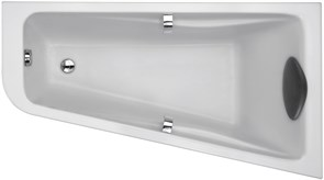 JACOB DELAFON Odeon Up Ванна (160 x 90 см) асимметричная (правосторонняя) для установки с каркасом.