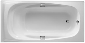 JACOB DELAFON Super Repos Ванна (180 х 90 см) с отверстиями для ручек.