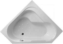 JACOB DELAFON Bain-Douche Угловая левосторонняя ванна-душ 145 х 145 см для установки с ножками (в комплекте).