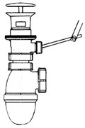 JACOB DELAFON Elements Сифон полипропиленовый