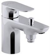 JACOB DELAFON Aleo Моноблочный однорычажный смеситель для ванны/душа