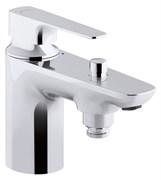 JACOB DELAFON Aleo Plus Моноблочный однорычажный смеситель для ванны/душа