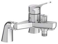 JACOB DELAFON Brive Однорычажный смеситель для ванны/душа на 2 отверстия, устанавливаемый на деку
