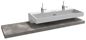 JACOB DELAFON Terrace Столешница 180 см, без отверстия, светло-серый меламин с эффектом ламинации