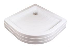 RAVAK Поддон RONDA PU полиуретановая основа, панель единая с поддоном, белая