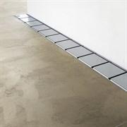 RAVAK OZ 10°  Пристенный канал из высококачественной нержавеющей стали в размерах 75, 85, 95, 105 см