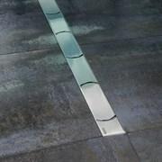 RAVAK OZ Chrome Канал из высококачественной нержавеющей стали в размерах 30, 75, 85, 95, 105 см