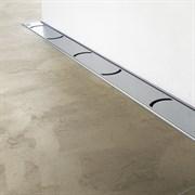 RAVAK OZW  Chrome Пристенный канал из высококачественной нержавеющей стали в размерах 75, 85, 95, 105 см