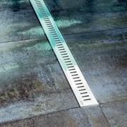 RAVAK OZP Zebra Пластиковый душевой канал с решеткой из нержавеющей стали; размер: 750, 850 мм.