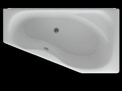 AQUATEK Медея  Акриловая ванна на каркасе, слив-перелив в комплекте, без панели. Правая ориентация