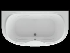 AQUATEK Мелисса Акриловая ванна на каркасе, слив-перелив в комплекте, без панели.