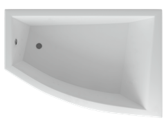 AQUATEK Оракул Акриловая ванна на каркасе, слив-перелив в комплекте, без панели. Правая ориентация