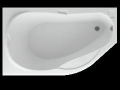 AQUATEK Таурус Акриловая ванна на каркасе, слив-перелив в комплекте, без панели. Левая ориентация
