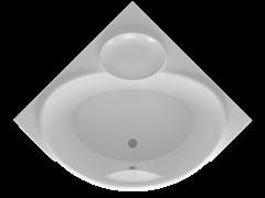 AQUATEK Эпсилон Акриловая ванна на каркасе, слив-перелив в комплекте, без панели.