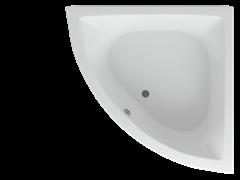 AQUATEK Юпитер Акриловая ванна на каркасе, слив-перелив в комплекте, без панели.