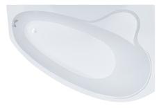 TRITON Пеарл-Шелл L Ванна акриловая в сборе на каркасе со сливом-переливом