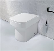 GROSSMAN Status Унитаз фарфоровый GR-PR3010 приставной, крышка-сиденье в комплекте