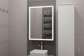 "CONTINENT Зеркало-шкаф ""Allure LED"" с подсветкой"