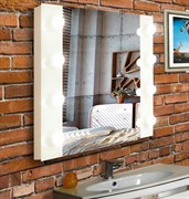 CONTINENT Зеркало гримёрное Этюд 80/60 с подсветкой