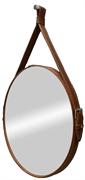 "CONTINENT Зеркало ""Millenium Brown LED"" D 650 c подсветкой"