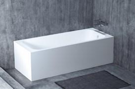 SALINI 170 ORLANDO KIT,  1 фронтальный и 1 боковой экран Ванна встраиваемая из литьевого камня