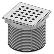 TECE Декоративная решетка quadratum 100 х 100 м с монтажным элементом, сталь