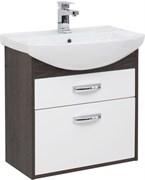 AQUANET Грейс 65 Тумба для ванной комнаты с раковиной (2 ящика)