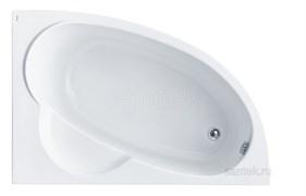 SANTEK Sri Lanka R 150х100 Ванна акриловая асимметричная, правая
